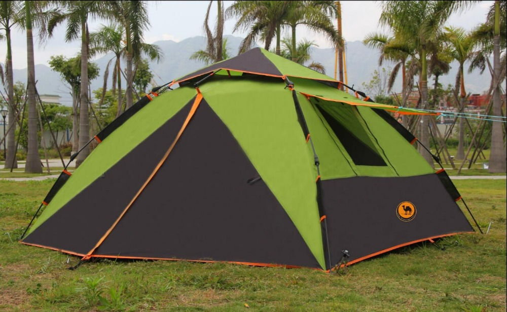 2018 automatic camping tent 3-4 person family beach park four-season tent for whosale outdoor camping hiking automatic camping tent 4person double layer family tent sun shelter gazebo beach tent awning tourist tent