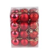 30 мм Рождественская елка шар-безделушка подвесной украшение для домашней вечеринки декор Горячая Распродажа