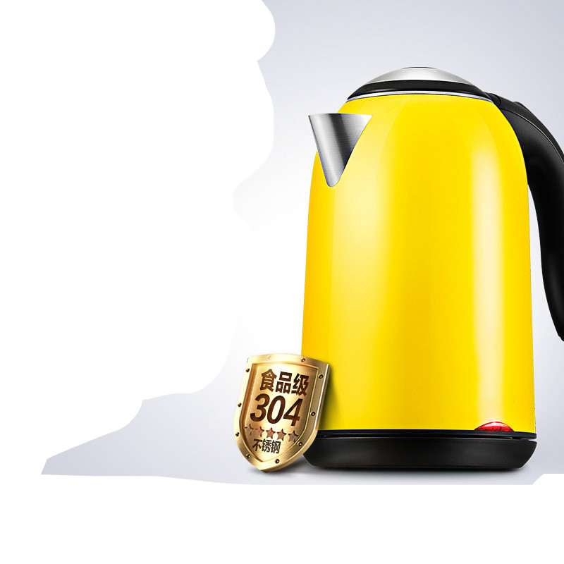 Electric kettle The electric of the insulated stainless steel 304 can be used for 1.7LElectric kettle The electric of the insulated stainless steel 304 can be used for 1.7L