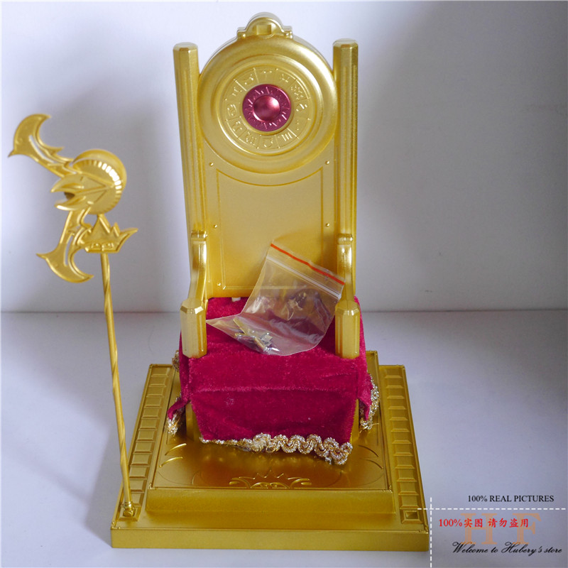 In Stock Toyzone Saint Seiya Myth Cloth Periphery Pope Chair with Truncheon and Dagger Action Figure Toy