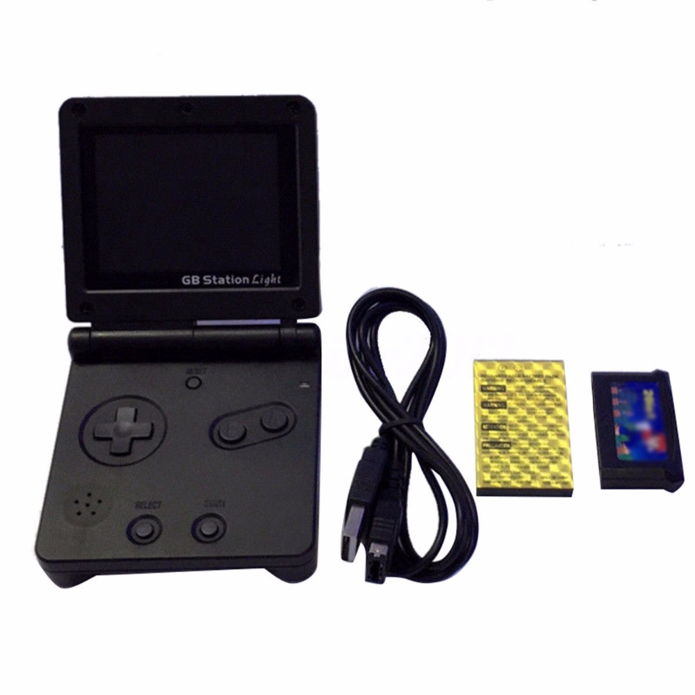GB Station Light boy SP PVP Retro Mini Handheld Game Player Built in 142 Games Portable Video Console 2 7 39 39 LCD 8 Bit Games in Handheld Game Players from Consumer Electronics