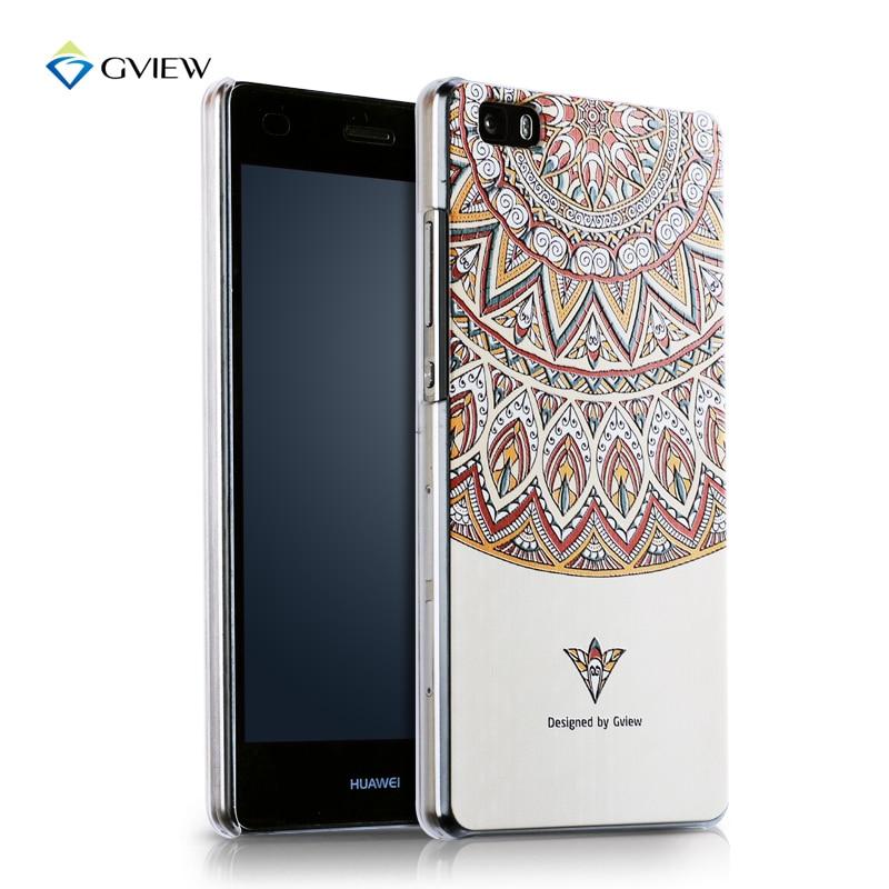 Gview Huawei p8 lite telefonväska huawei p8 mini Relief tecknad - Reservdelar och tillbehör för mobiltelefoner - Foto 2