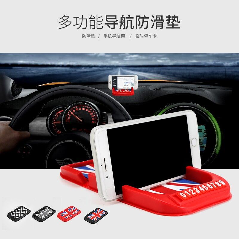 Многофункциональный Противоскользящий коврик для мобильного телефона стенд и инструмент регистрации в автомобиль Автомобильный навигато...
