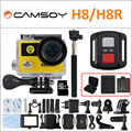 """Ultra HD 4K WIFI Sport Action Camera H8R/H8 with remote control Dual Screen 2"""" LCD Waterproof Helmet VR360 Camcorder DVR"""