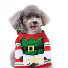 Winter Style  Pet Clothes Christmas Santa Claus Dog Clothes  Costumes Cosplay Xmas Clothing Pet