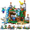 Qunlong Toy 4 in 1 MY WORLD Action Figures Building Blocks Compatible Legos Minecraft City Educational Enlighten Bricks For Kids