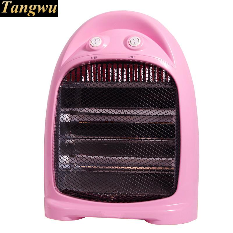 Little home desktop electric heaters quiet dark energy saving heater heating machine energy conservation and solar energy water heater electric heating tube flange air heating elements quartz glass heater tuebe