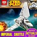 Lepin 05057 937 unids Genuino Nueva Serie Star El Transbordador Imperial Set 75094 Bloques de Construcción Ladrillos Juguetes Educativos Regalos