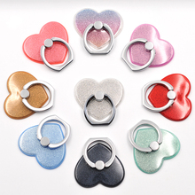 Glitter Heart Phone Ring – 9 Colors