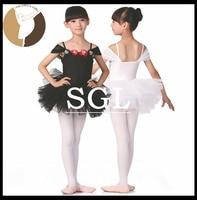 5 Pieces Lot Children Ballet Tutu Dresses White Black Pink Color Dance Costumes For Sale