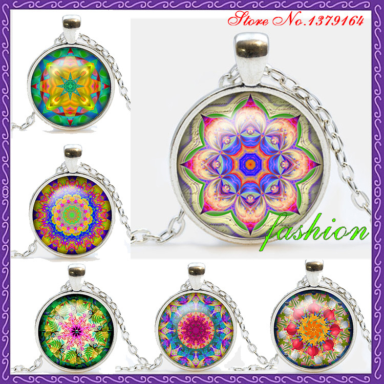 Aliexpress Com Buy 2 In 1 Constellations Pendant Amulet: Aliexpress.com : Buy Mandala Pendant Religious Jewelry