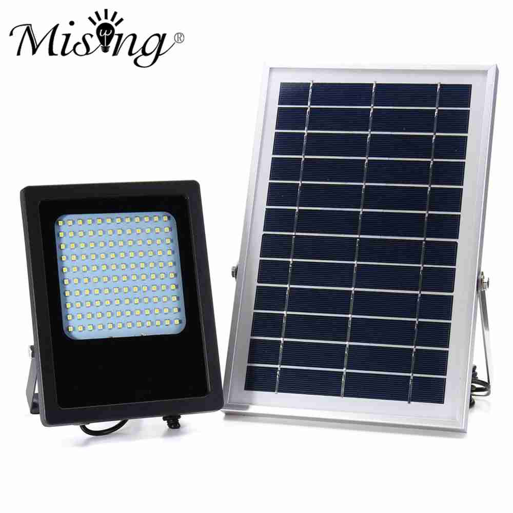 15W Solar Lamp Powered Panel Light 120 LED Waterproof Outdoor Garden Spotlight Flood Light