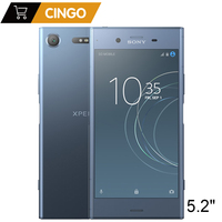 Sony Xperia XZ1 G8342 Dual Sim Android Octa Core 4G RAM 64G ROM 5.2 19MP NFC 2700mAh Original LTE Mobile Phone