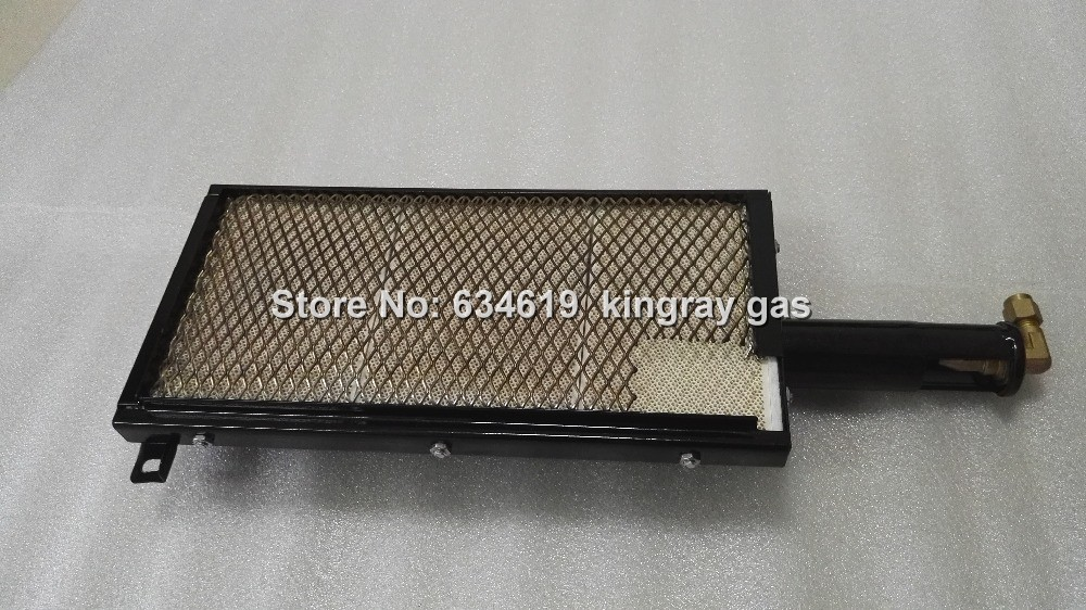 Super quality gas infrared burner for bbq roasting machine oven grill burner lpg&NG burner for kebab with nozzle jet orifice