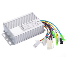 цена на 1pc Aluminium Brushless Motor Controller DC 36V/48V 350W 103x70x35mm For Electric Bicycle E-bike Scooter