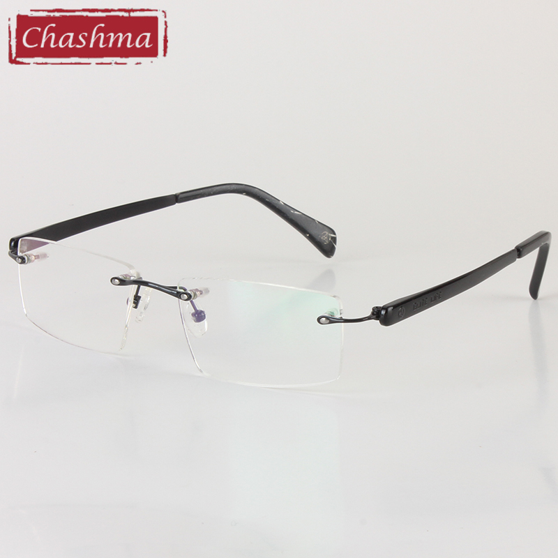 Chashma Brand Eyewear Kişi Eynəklər Optik Çərçivəsiz, Rəngsiz - Geyim aksesuarları - Fotoqrafiya 5