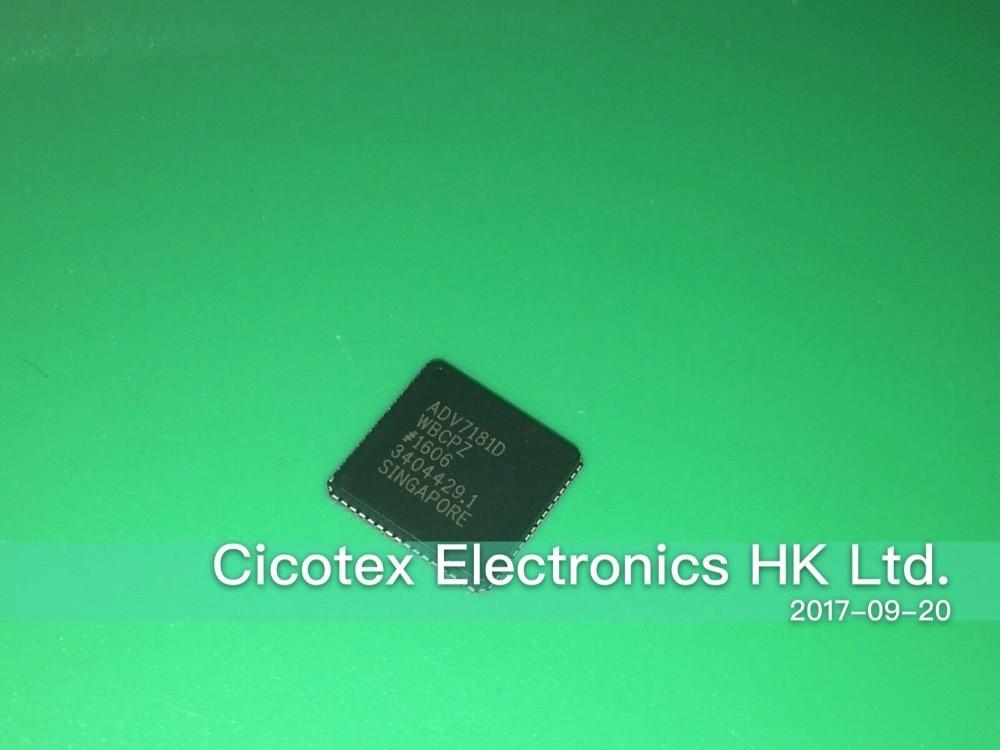 ADV7181DWBCPZ LFCSP-64 IC VIDEO DECODER SD HD 64 LFCSP ADV7181DADV7181DWBCPZ LFCSP-64 IC VIDEO DECODER SD HD 64 LFCSP ADV7181D
