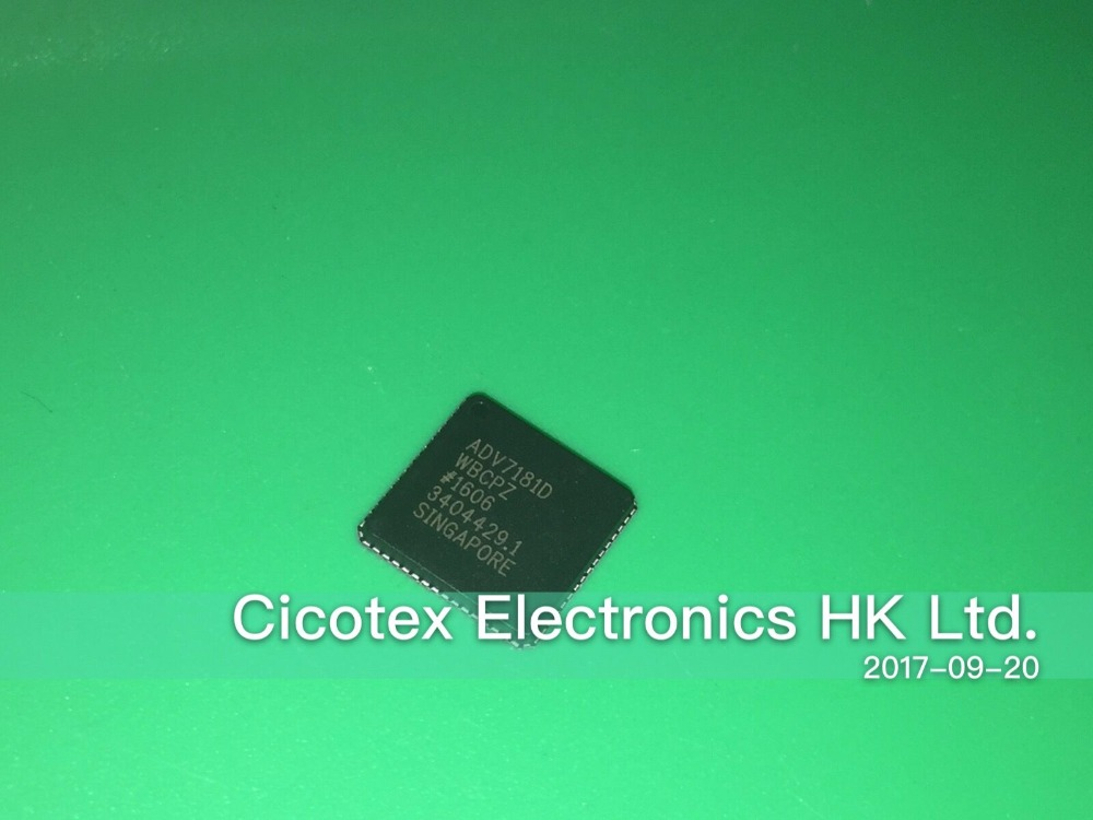 ADV7181DWBCPZ LFCSP-64 IC VIDEO DECODER SD HD 64LFCSP ADV7181DADV7181DWBCPZ LFCSP-64 IC VIDEO DECODER SD HD 64LFCSP ADV7181D