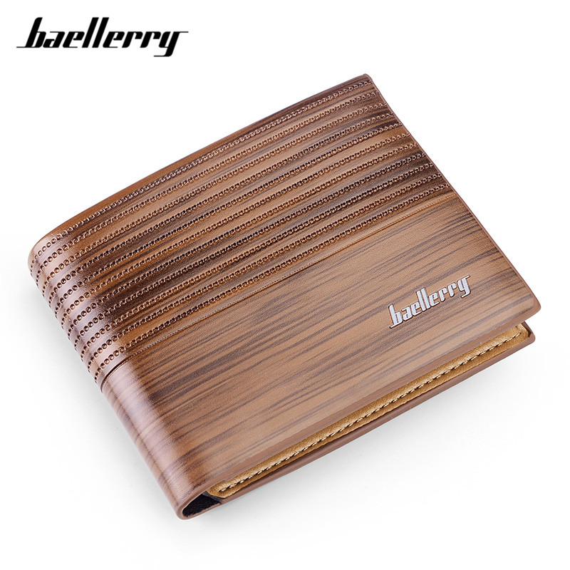 Baellerry Brand Designer Short Style Wallet for Men Soft Leather Casual Purse Mens Small Wallets Card Holders Male Purse Hot 8mm spindle angular contact ball bearings 708c 2rs p4 super precision bearing abec 7 708 double sealed rubber seals rs rs1 2rs1
