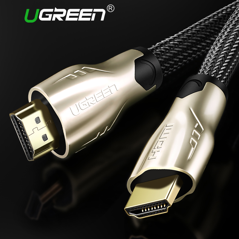 Ugreen HDMI Cable HDMI to HDMI 2.0 Cable 4K for Xiaomi Projector Nintend Switch PS4 Television TV Box xbox 360 5m 10m Cable HDMI xbox 360 cable hdmi av cable gray kmd