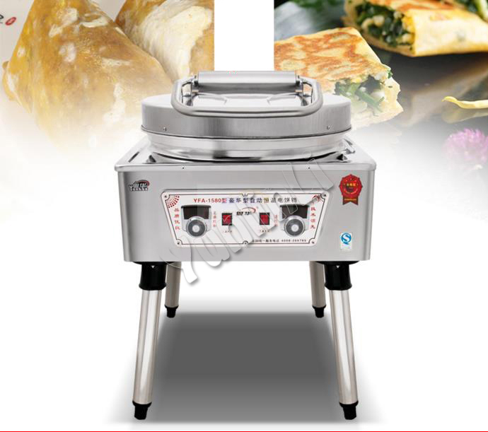 Commercial Electric Baking Pan/Plush Pancake Maker/Double Heating Pancake Making Machine/Electric Pancake Baking Machine 1580 цена