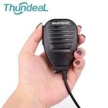 ThundeaL Портативный радио Ручной Динамик микрофон UV5R PTT MIC аксессуары для портативной рации Baofeng UV-5R BF-888S микрофон