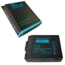 Pacote de baterias de lítio SOULMATL CGA-S006 CGR-S006E S006E Bateria Da Câmera Digital Para Panasonic DMC-FZ18 FZ28 FZ7 FZ8 FZ35 FZ50