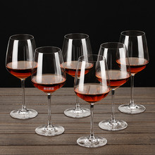 European Crystal Glass Red Wine Cup Individual High Foot Creative Cold Cut for Household Grade
