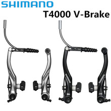 Shimano Alivio Br T4000 M4000 V-brake Brakes Lever Mountain Bike Bicycle Brake Road Bicycles Folding V