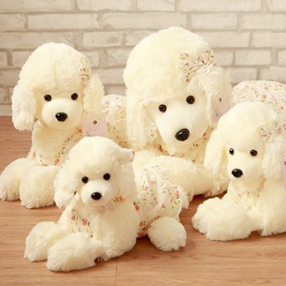 US $13 4 38% OFF|Aliexpress com : Buy BOLAFYNIA High end plush toy dog doll  poodle collie ornaments birthday gift Stuffed toy from Reliable stuffed