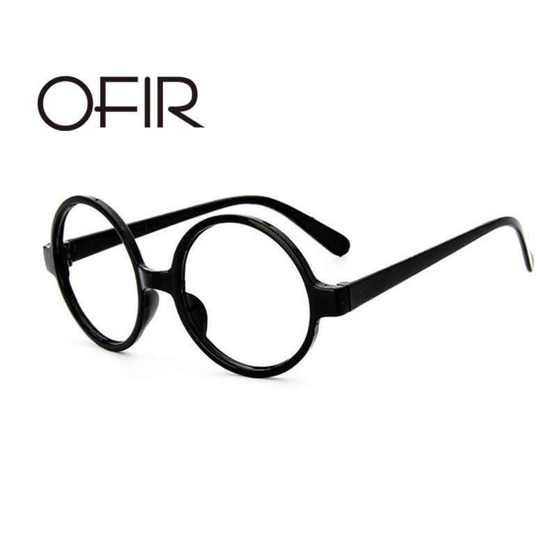 a712a864b7 OFIR Classic Retro Round Glasses Women Frame Ala Lei Cute Glasses Frame Men  Harry Potter Glasses