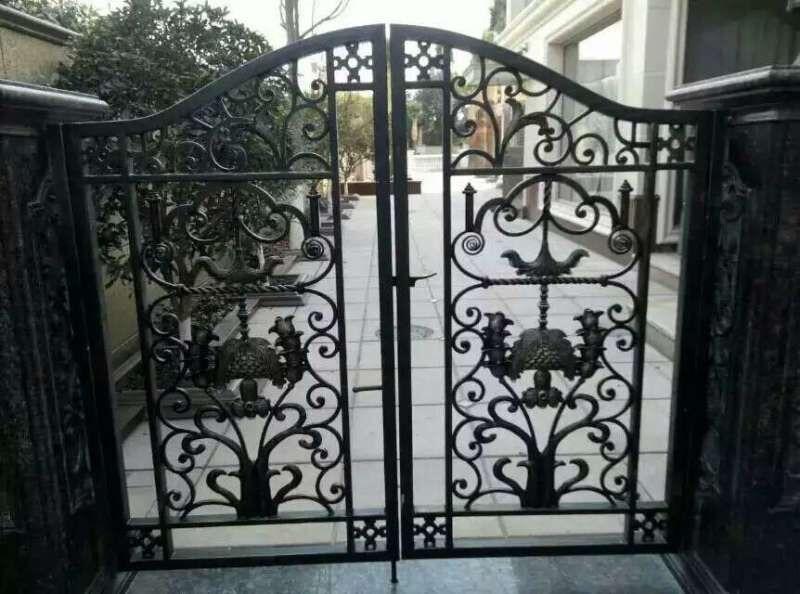 Metal Gate Cost Cheap Driveway Gates Custom Garden Gates