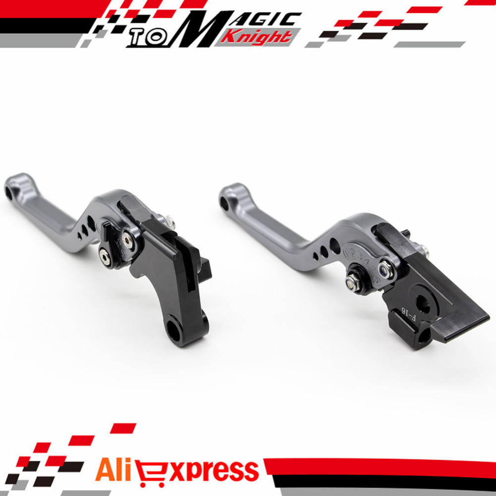 For BMW F800GS F800R/GT/ST/S Motorcycle Accessories CNC Billet Aluminum Short Brake Clutch Levers gray adjustable billet short folding brake clutch levers for bmw f 650 700 800 gs f650gs f700gs f850gs 08 15 09 10 f 800 r s st 06 15