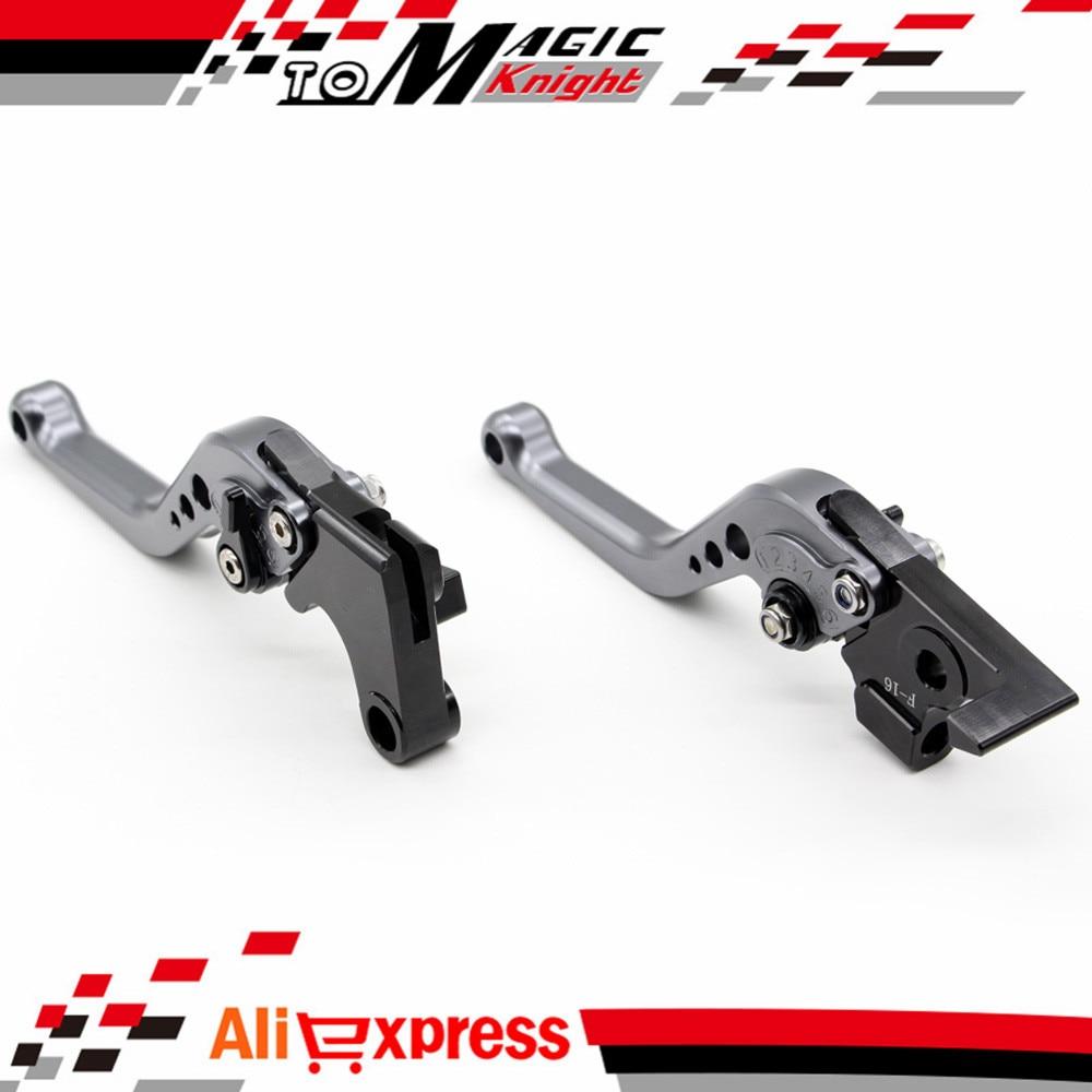 For BMW F800GS F800R/GT/ST/S Motorcycle Accessories CNC Billet Aluminum Short Brake Clutch Levers gray adjustable billet long folding brake clutch levers for bmw k1600 gt gtl 11 14 12 13 k1300 k1200 r s r1200 r rt s st gs 04 14 05
