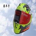 Auténtico FF323 LS2 casco de fibra de carbono compite con el casco casco de los deportes
