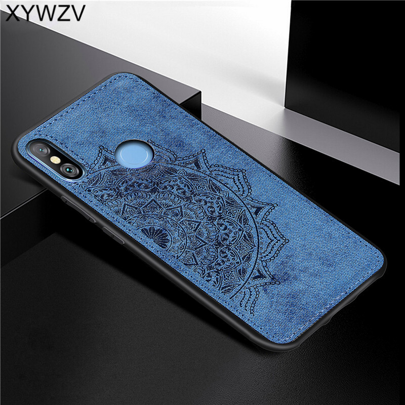Image 4 - Xiaomi Redmi Note 6 Pro Shockproof Soft TPU Silicone Cloth Texture Hard PC Phone Case Redmi Note 6 Pro Cover Redmi Note 6 Pro-in Fitted Cases from Cellphones & Telecommunications