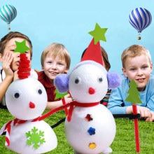 Качество Моделирование пенополистирол пенопласт пены мяч белый авторские шары для DIY для рождественской вечеринки украшения поставки подарки