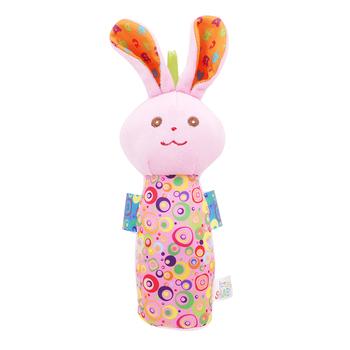Grzechotki dla dzieci Mobiles kije miękki pluszowy lalka bawełna kreskówka małpa królik słodkie łóżko wiszące dzwonek ręczny zabawka w kształcie zwierzątka dla dzieci zabawki tanie i dobre opinie LAIMALA 13-24m 7-12m W wieku 0-6m 25-36m 4-6y Pluszowe CN (pochodzenie) Unisex 768716 NONE rozdzielone SOFT 13 5*16 5cm
