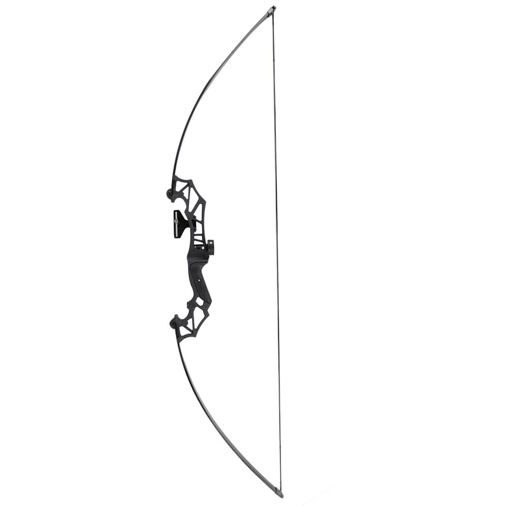 купить 2018 New design archery hunting straight bow/fishing bow aluminum alloy riser takedown bow по цене 2284.04 рублей