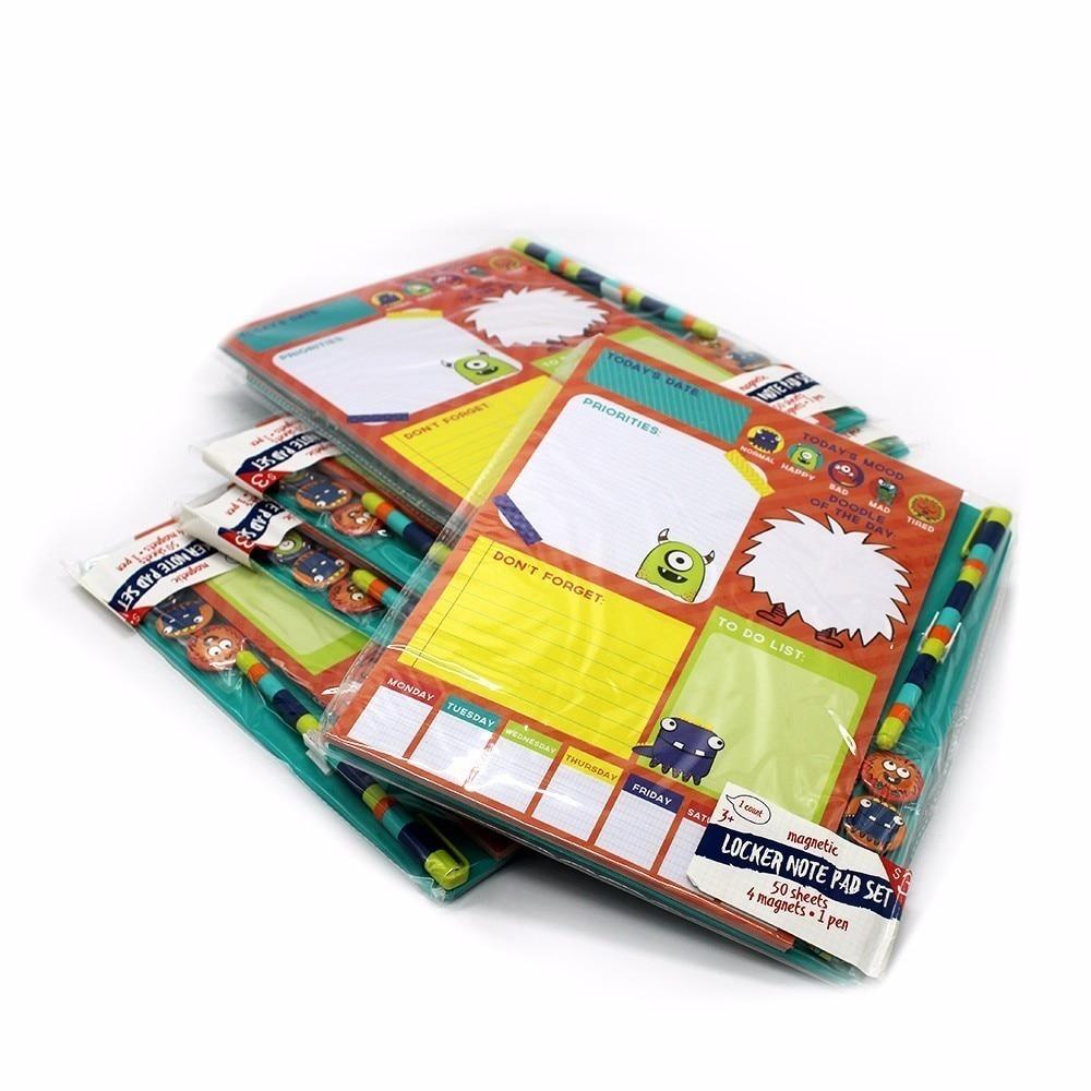 Pocket Notebook 4 Magneet Small Clean Leuk meisje Portable Notes - Notitieblokken en schrijfblokken bedrukken - Foto 3