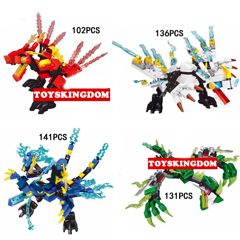 Hot evil ghost ninja dragon knights go building block kai zane jay morro figures bricks toys for children gifts