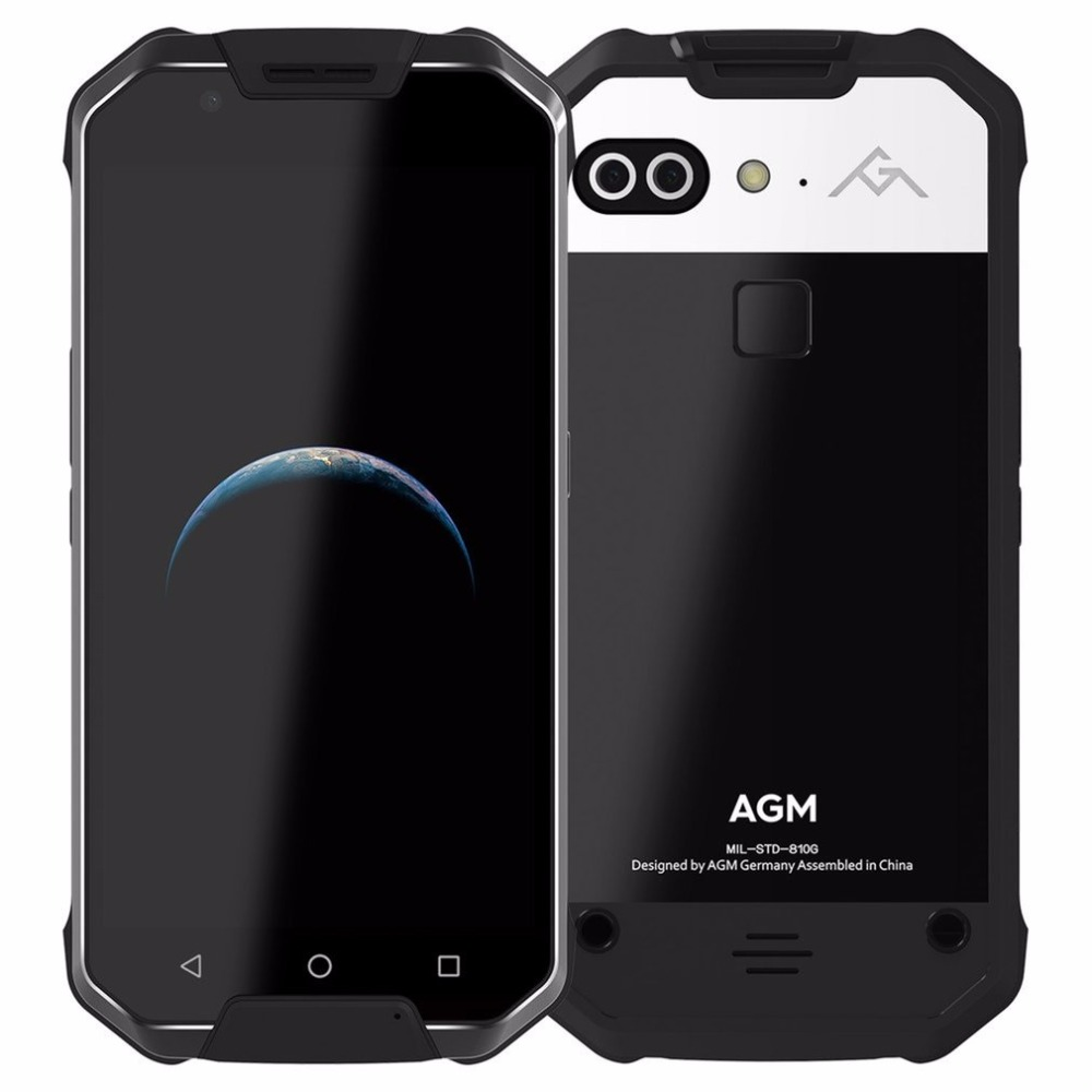 2017 OFFICIAL NEW RELEASE AGM X2 4G Smartphone Android7 0 IP68 Waterproof 5 5 Octa Core
