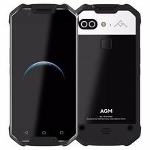 2017 OFFICIEL NOUVELLE VERSION AGM X2 4G Smartphone Android7.0 IP68 Étanche 5.5 «Octa Core 6000 mAh Soutien COV Capteur NFC GPS OTG