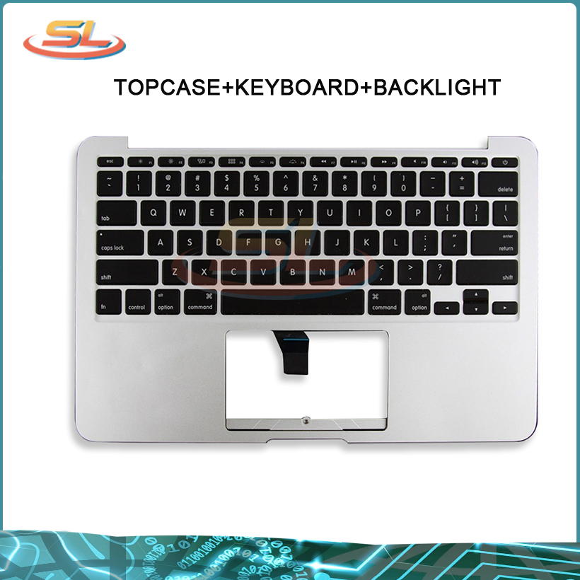 Véritable nouveau Top Case A1465 pour MacBook Air 11.6 ''avec disposition US MD711 MD712 clavier mi 2013-début 2015