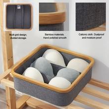 Органайзер для бюстгальтера из ткани Оксфорд, разделитель для ящиков, ящик для хранения бюстгальтера, многофункциональный органайзер для шкафа, для домашнего хранения