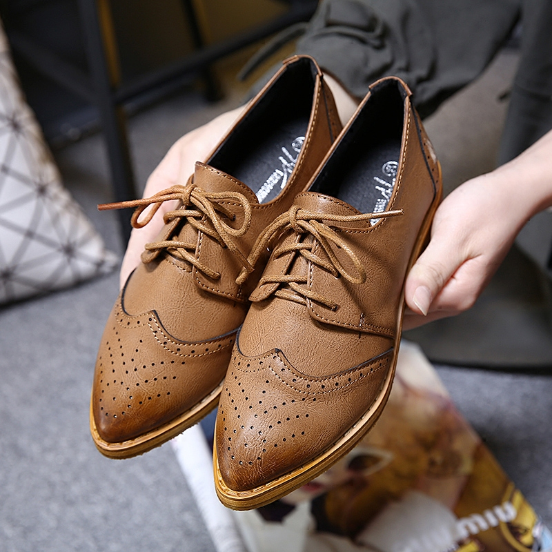 ФОТО MAGGIE'S WALKER 2017 Women Shoes Oxford Spring Shoes In The Flat for Women Superstar with Casual and New Fashion Size 35~39