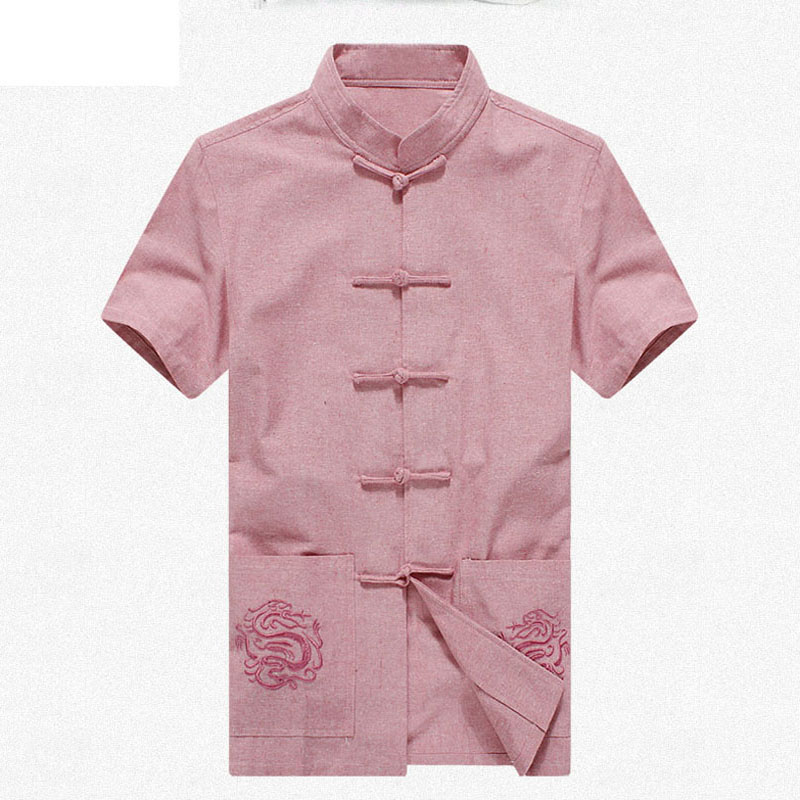 Compare Prices on Embroidered Collar Shirt Men- Online Shopping ...