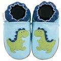 2016 Весной и Летом горячее надувательство стили Гарантировано 100% мягкой подошве Из Натуральной Кожи детская обувь/детская обувь