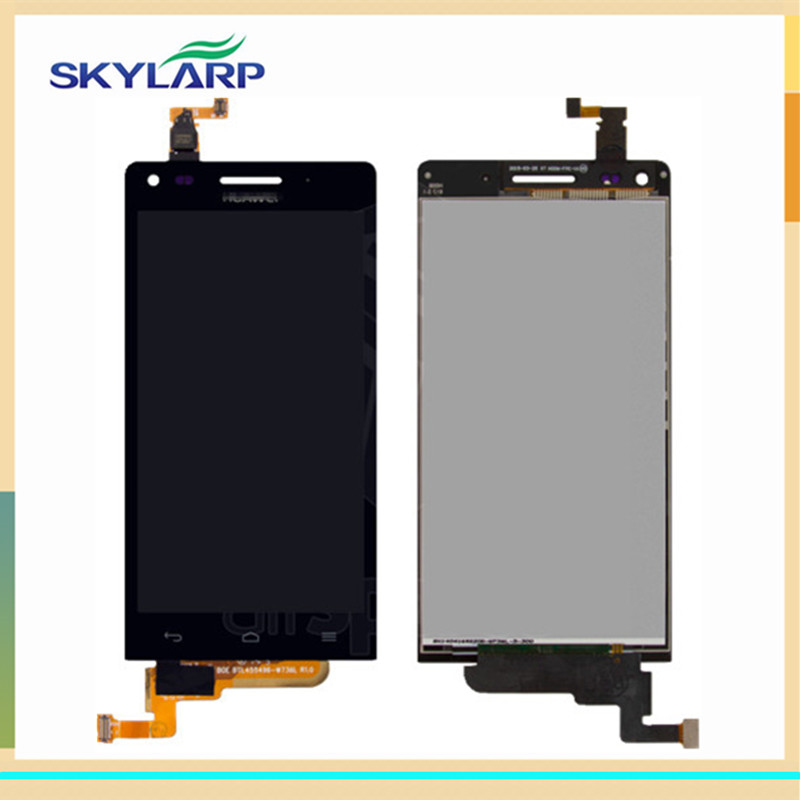 ФОТО Black for Huawei Ascend G6-U10 LCD screen Module With Digitizer Touch Screen Replacement