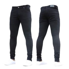 NIBESSER mens brand Skinny jeans Casual hip hop Trousers